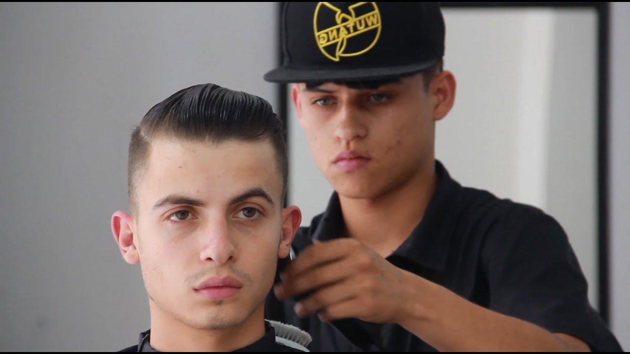 corte de cabello para hombre haircut man