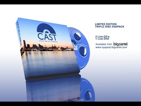 CAST Liverpool At Last Limited Edition CD/DVD Buy from Amazon.co.uk