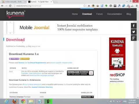 Joomla 2.5 Step by Step - การติดตั้ง Component ใน Joomla 2.5
