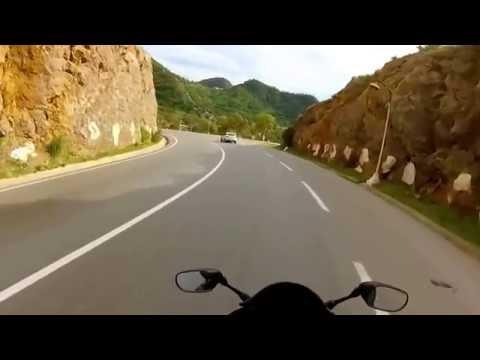 Tunisian Biker tours  in Algeria سائحان تونسيان يجوبان الجزائر