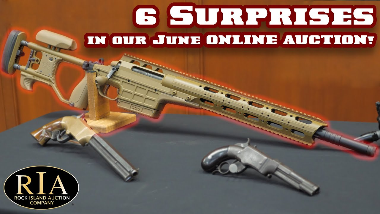 6 Surprises in Our June Online Auction!