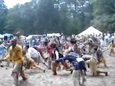 Welcome Dance of the Narragansett Native Americans