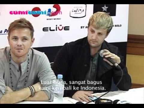 Westlife Sangat Berkesan konser di Indonesia - cumicumi.com