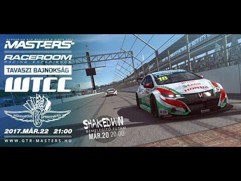 RaceRoom: GTR-Masters - Indianapolis - Race Onboard