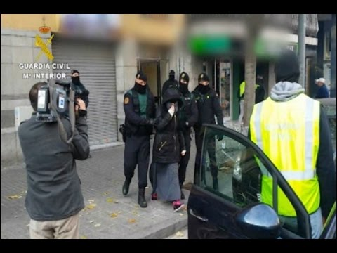 Detenidos tres yihadistas en Barcelona y Granollers