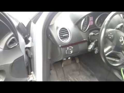 Mercedes W164 2009 GL Adblue Bypass