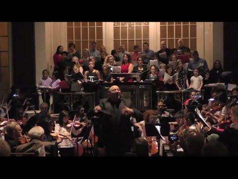 Bloomingdale School of Music 50th Birthday Concert 11/8/2014: Ode to Joy & Happy Birthday