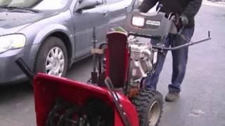 DIY  Drive Ring Repair On Craftsman Snowblower
