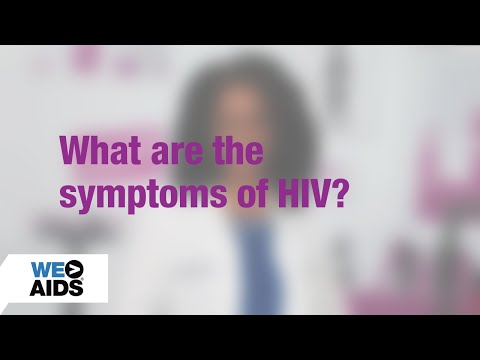 #AskTheHIVDoc 4.0: What are the symptoms of HIV? (0:59)