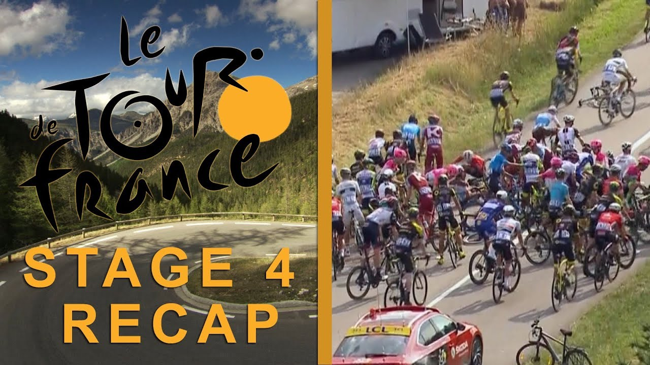 Tour de France 2018: Stage 4 Recap I NBC Sports