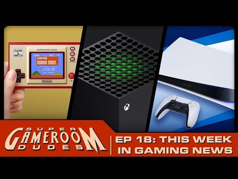 Arcade1UP & AtGames Pinball, Nintendo Game & Watch, PS5 Launch & MORE! | SGRD Ep. 18 from MichaelBtheGameGenie