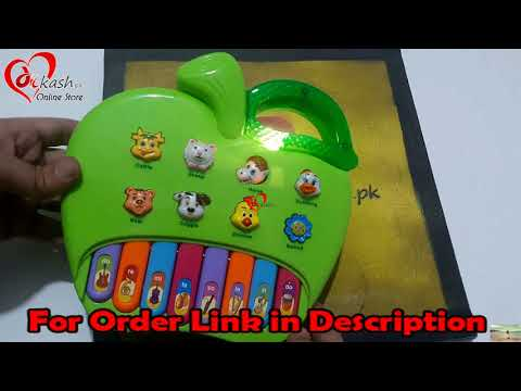 Apple Piano Toy Music Animals Review for Kids - 6950041400021   Dilkash.pk Online Store