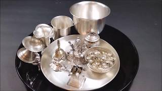 How to Clean Silver items at Home | Easy Way to Clean Silver items in Telugu