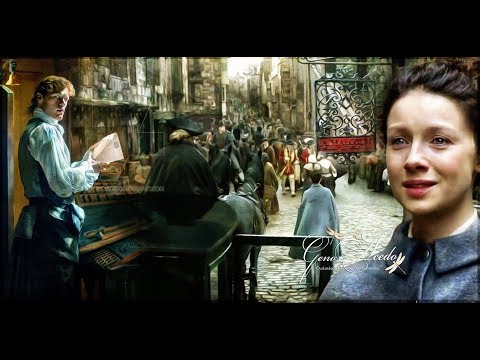 OUTLANDER S 3 I Find you Jamie  PRINT SHOP SCENE