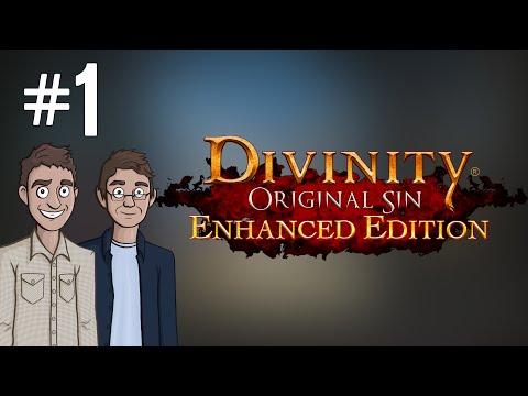 Let's Play: Divinity: Original Sin - Ep. 1 - Splitscreen Controller RPG!