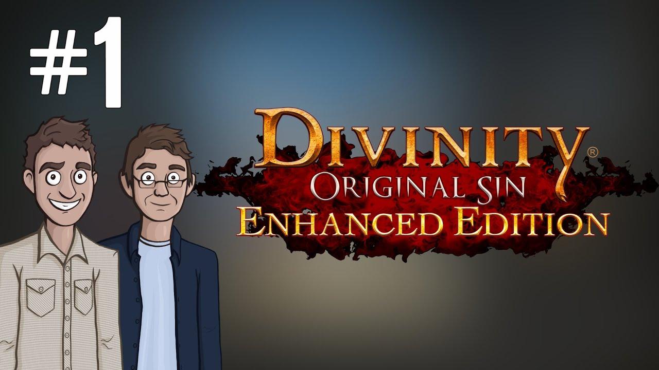 Let's Play: Divinity: Original Sin - Ep  1 - Splitscreen Controller RPG!
