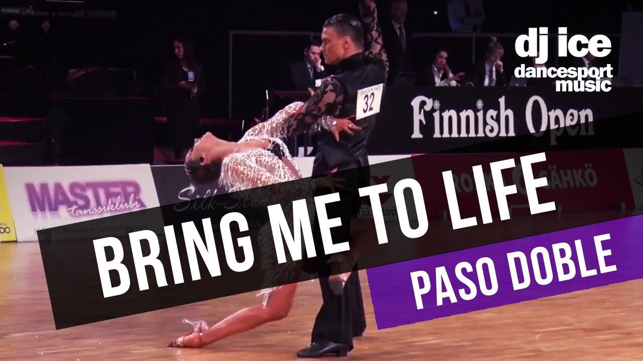 PASO DOBLE | Dj Ice - Bring Me To Life (59 BPM) - YouTube
