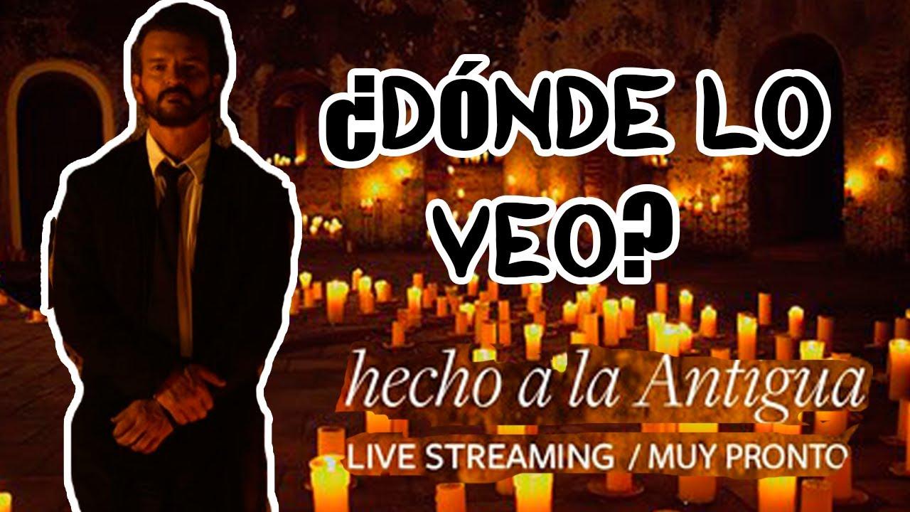 Download Ricardo Arjona Hecho a la antigua (Livestreaming) - Solo Arjona