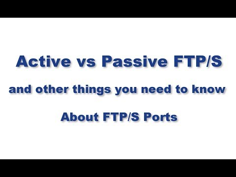 Active vs  Passive FTP Simplified - Understanding FTP Ports