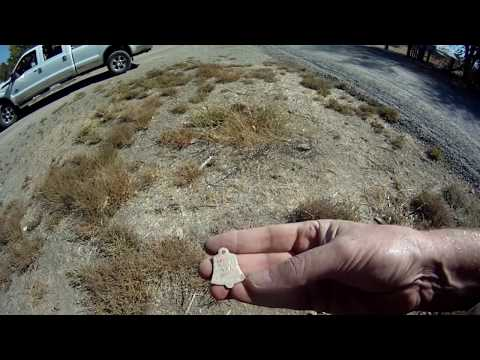 Treasure Cache found in Nevada using Minelab CTX-3030 Metal Detector - Psyco or grave site?