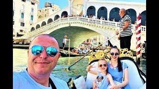 НЕОБЫЧНОЕ Путешествие по Италии КАТАЕМСЯ на Морском ТРАМВАЙЧИКЕ и ГАНДОЛЕ ВЛОГ ВЕНЕЦИЯ + Верона