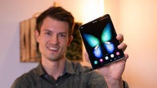 Samsung Galaxy Fold 5G - Hands-On und Ersteindruck des faltbaren Smartphones #IFA2019