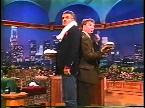 Marc Summers on the Tonight  with Burt Reynolds