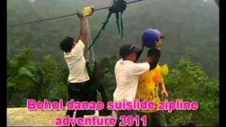 bohol danao suislide zipline adventure 2011