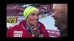 Daniel Yule: Grosse Eier (legendäres Interview zum Slalom-Sieg in Adelboden 2020)