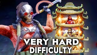 Mortal Kombat 11 Kabal Klassic Tower Very Hard Difficulty Gameplay (No Commentary)