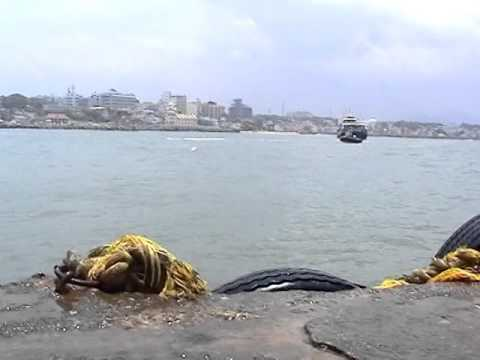 Swimming across Vivekananda Rock to Kanyakumari - 2013 [part 2]