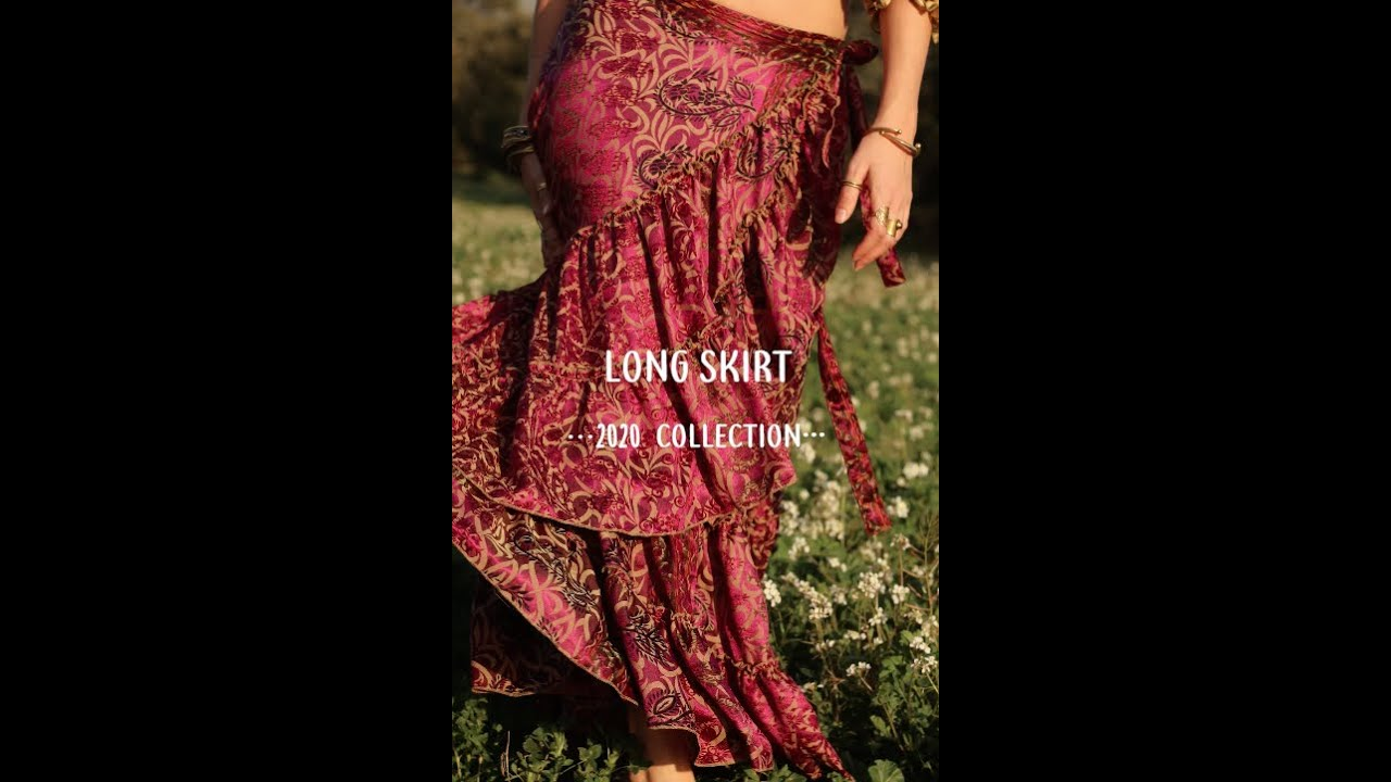 Long Skirt; 2020 Collection by Radha's Tribe
