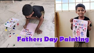 Fathers Day Painting for Kids //Fathers day Painting // Happy Father's Day @Rekha Talks