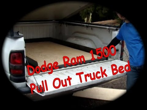 Dodge Ram 1500 Pull Out Truck Bed D I Y Youtube