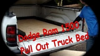 Dodge Ram 1500 Pull Out Truck Bed D.i.y.