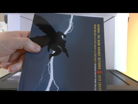 Batman Dark Knight Returns Gift Unboxing!