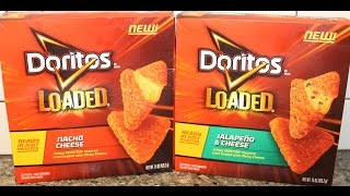 Doritos Loaded: Nacho Cheese And Jalapeno & Cheese Review