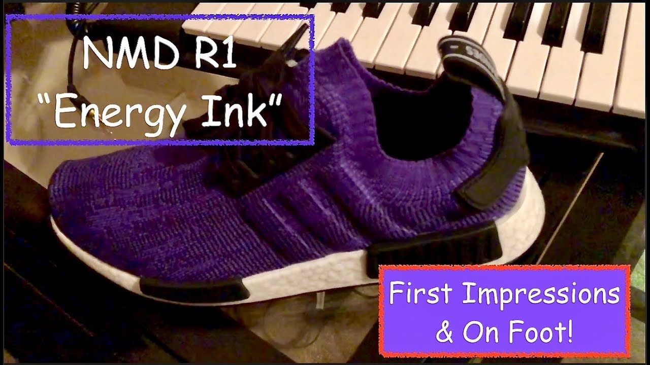 differently 3f3cc 2522a Adidas NMD R1 Energy Ink Impressions & On Foot!