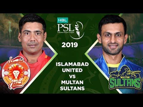 Match 4: Full Match Highlights Islamabad United vs Multan Sultans | HBL PSL 4 | 2019
