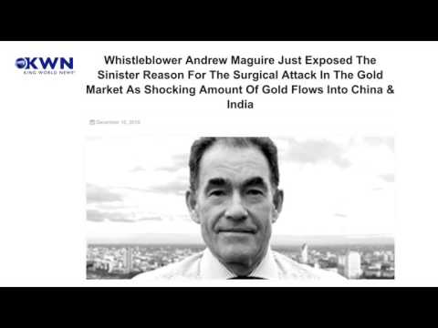 Whistleblower Andrew Maguire Just Exposed the Sinister Reason for the Surgical Attack in the Gold Ma