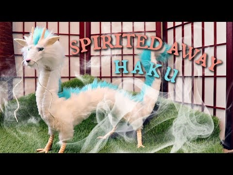 Haku Dragon from Spirited Away || Posable Art Doll Tutorial thumbnail
