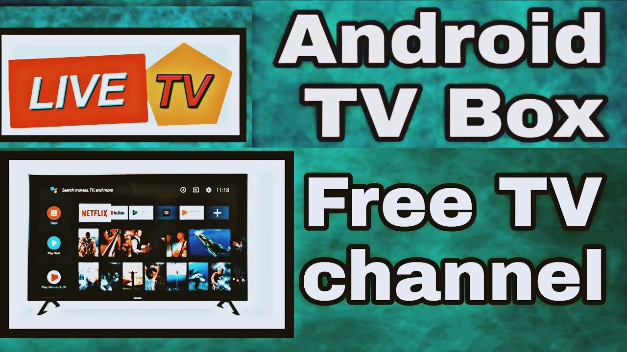 Android Tv Box Live Tv Apps Free Tv Channel Youtube