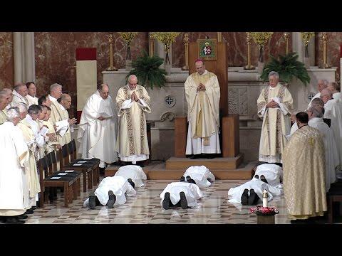 Permanent Diaconate Ordination 2016
