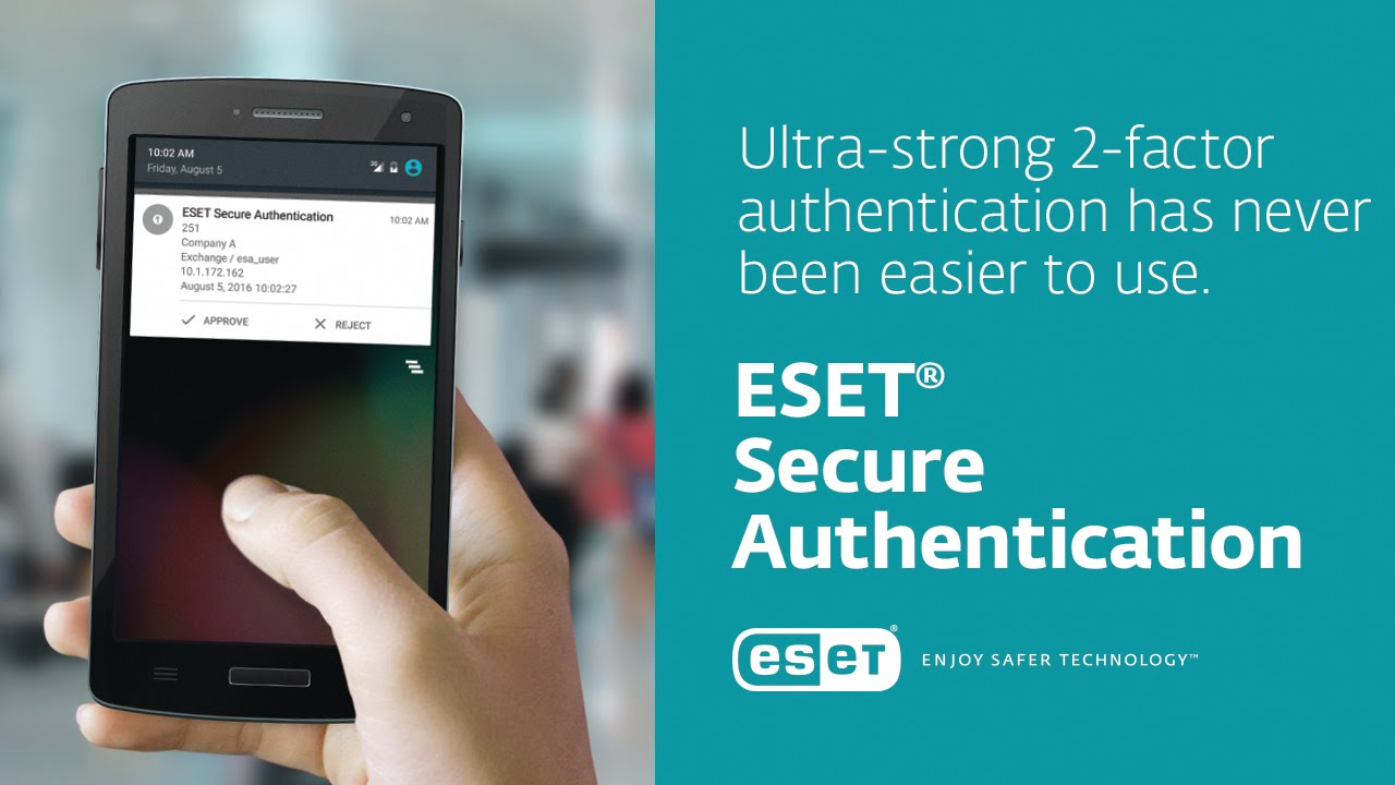 Two-Factor Authentication | ESET