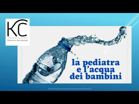 La pediatra vi spiega l'acqua giusta per i Bambini