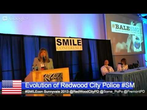 #Smilecon Evolution of Redwood City Police Dept Social Media