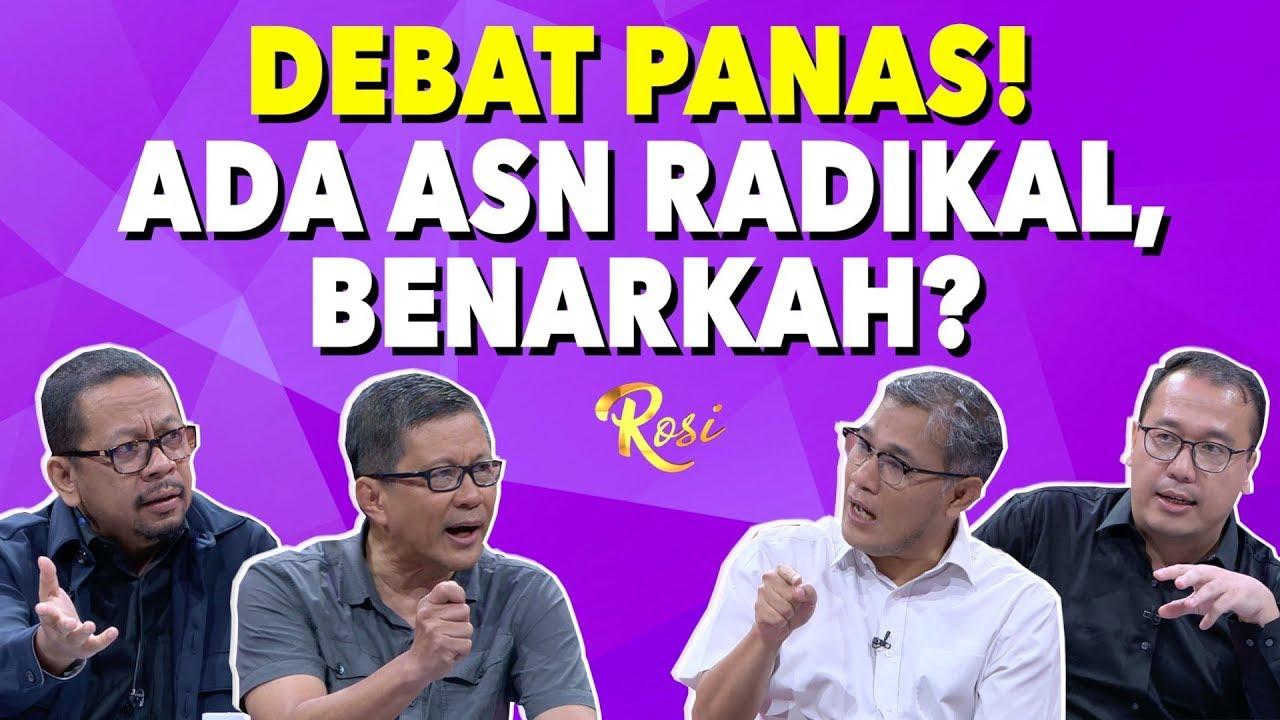 Download Debat Panas Soal ASN Radikal! | Gebrakan Menteri Jokowi - ROSI (1)