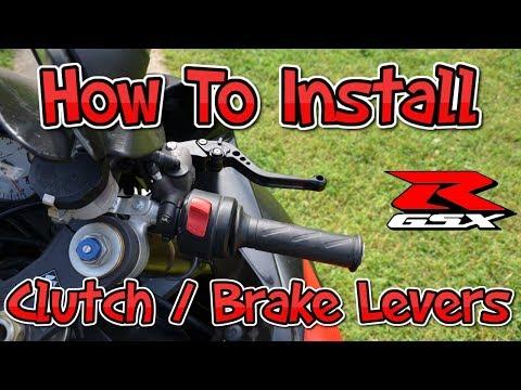 How To Install Clutch & Brake Levers (2006 – 2010 Suzuki GSXR)