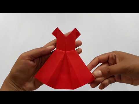 DIY    HOW TO MAKE PAPER DRESS