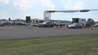 Porsche 996 Turbo vs. Shelby Mustang GT500 @ EFR Meschede